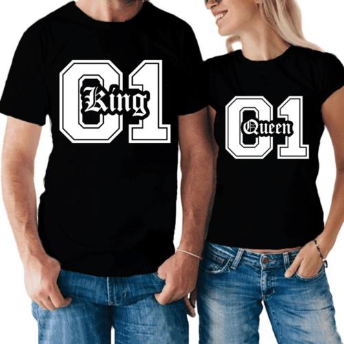 t-shirt Queen & King 01