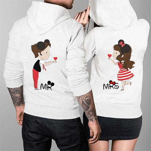 felpe Mr & Mrs