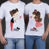 t-shirt di coppia