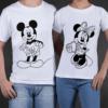t-shirt Minnie & Topolino