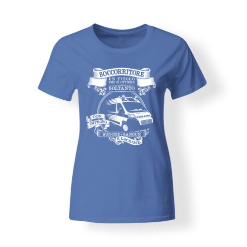T-shirt personalizzata Soccorritori