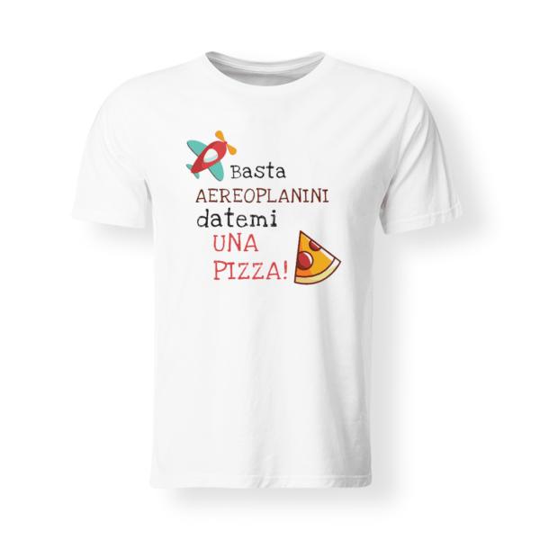 t-shirt bambino/a Datemi una pizza