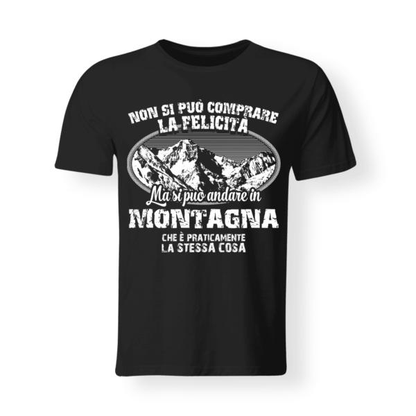 T-shirt divertente montagna