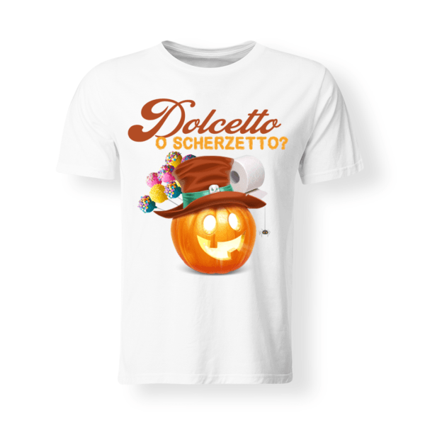 t-shirt bambino/a Dolceto o scherzetto