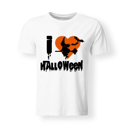t-shirt bambino/a I Love Halloween