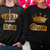 felpe king queen stampa anteriore