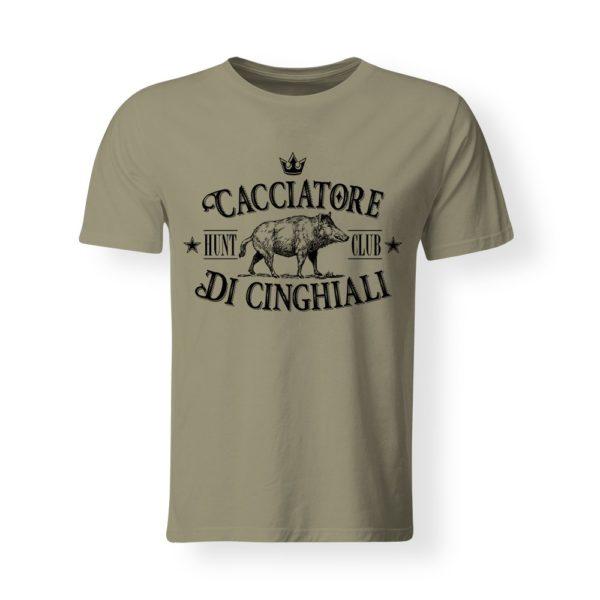 t-shirt Cacciatore di cinghiali