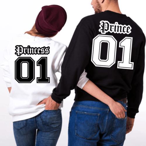 felpe Prince & Princess