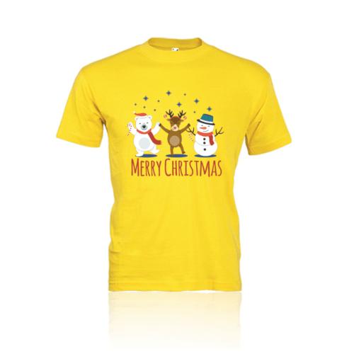 T-shirt bambino Merry Christmas