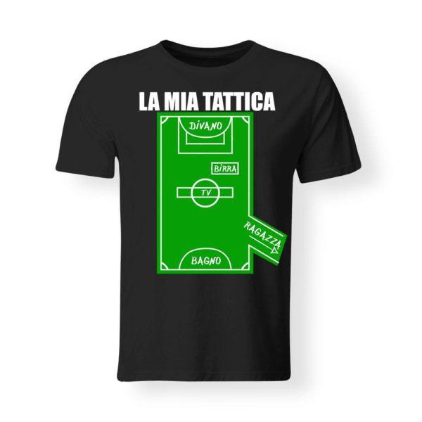 PRODOTTO: T-Shirt Divertente - La mia tattica
