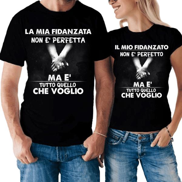 t-shirt per fidanzati personalizzabile