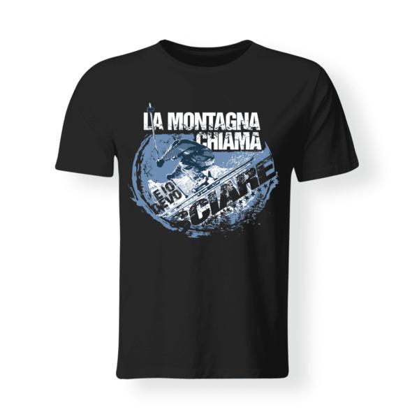 T-shirt personalizzata montagna