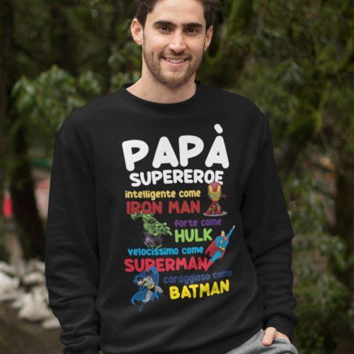 papà super eroe