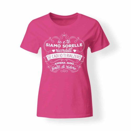 T-shirt donna Noi siamo sorelle