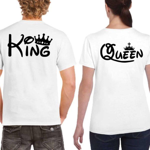 t-shirt queen & king