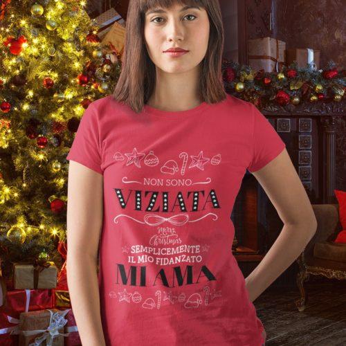 T-shirt da donna Natale