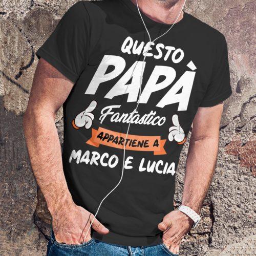 T-shirt regalo festa del papà