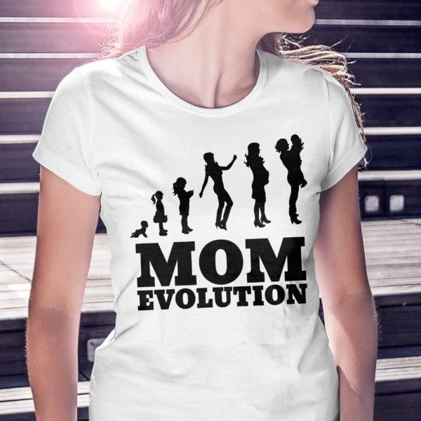 T-shirt festa della mamma Mom Evolution