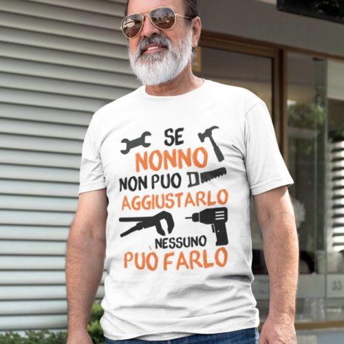 T-shirt Personalizzata Per un Nonno Super