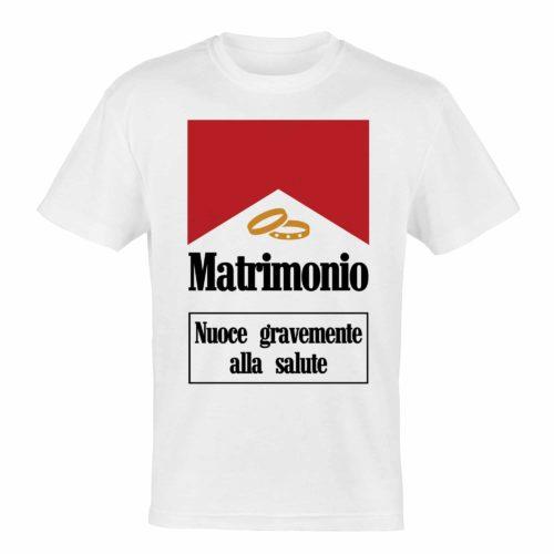 T-shirt personalizzata addio al celibato