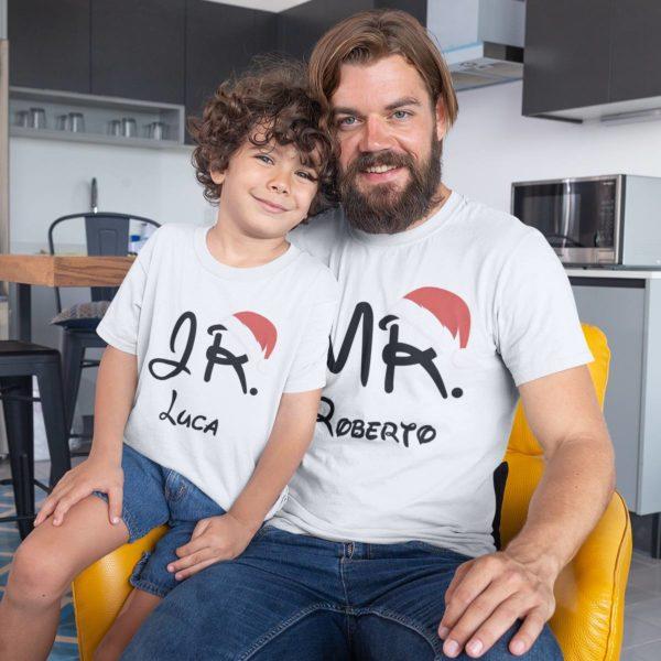 coppia t-shirt personalizzate con nome