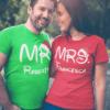 coppia t-shirt natale