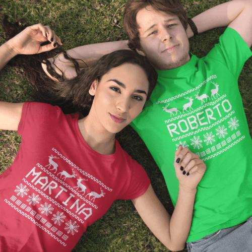 coppia t-shirt personalizzate