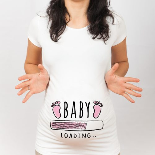 T-shirt Premaman Baby Girl Loading