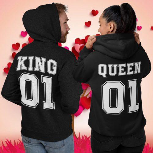 king & queen felpe