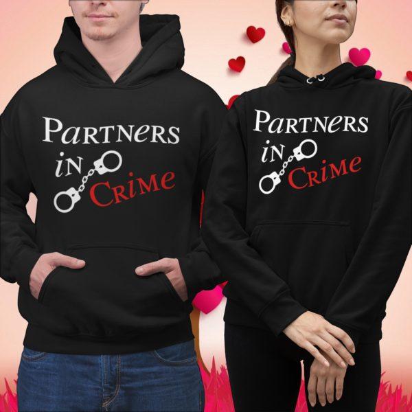 felpe coppia partners in crime