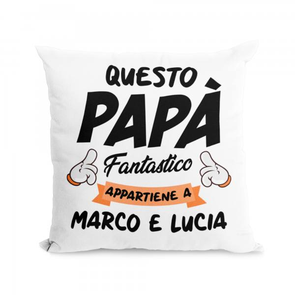 cuscino festa del papà