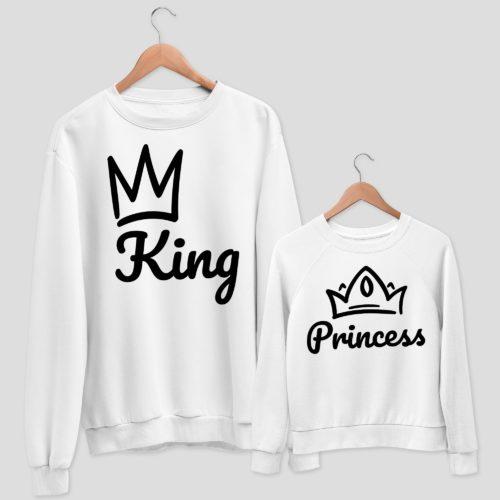felpa King & Princess