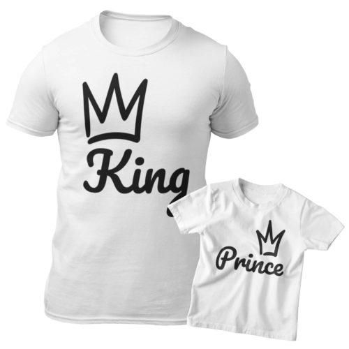 t-shirt King & Prince/Princess