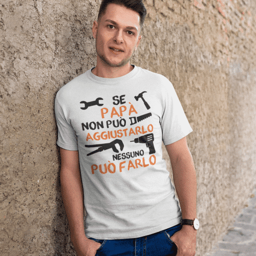 T-shirt papà aggiusta