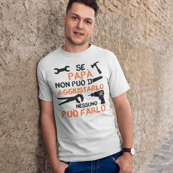t-shirt papà personalizzata