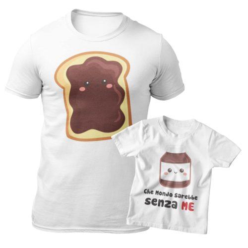 T-shirt papà & bambino/a