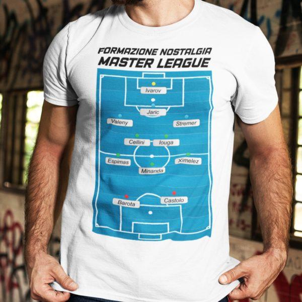 T-shirt formazione nostalgia