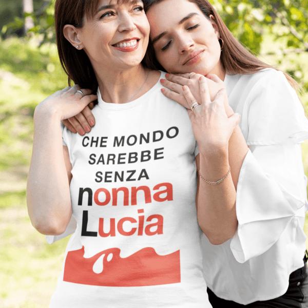 t-shirt festa dei nonni personalizzata