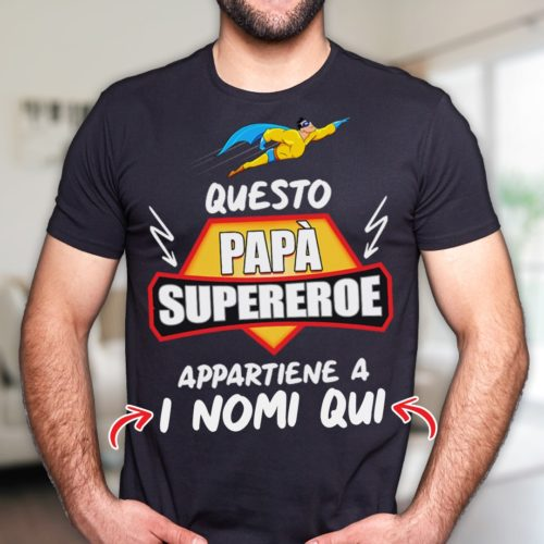 t-shirt regalo papà