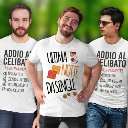 Addio Al Celibato- T-shirt Personalizzate