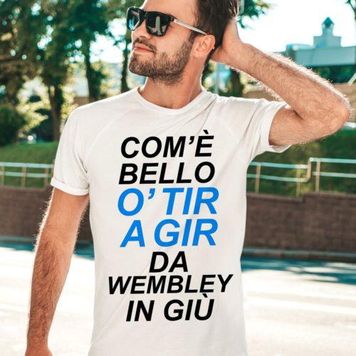 t-shirt uomo calcio